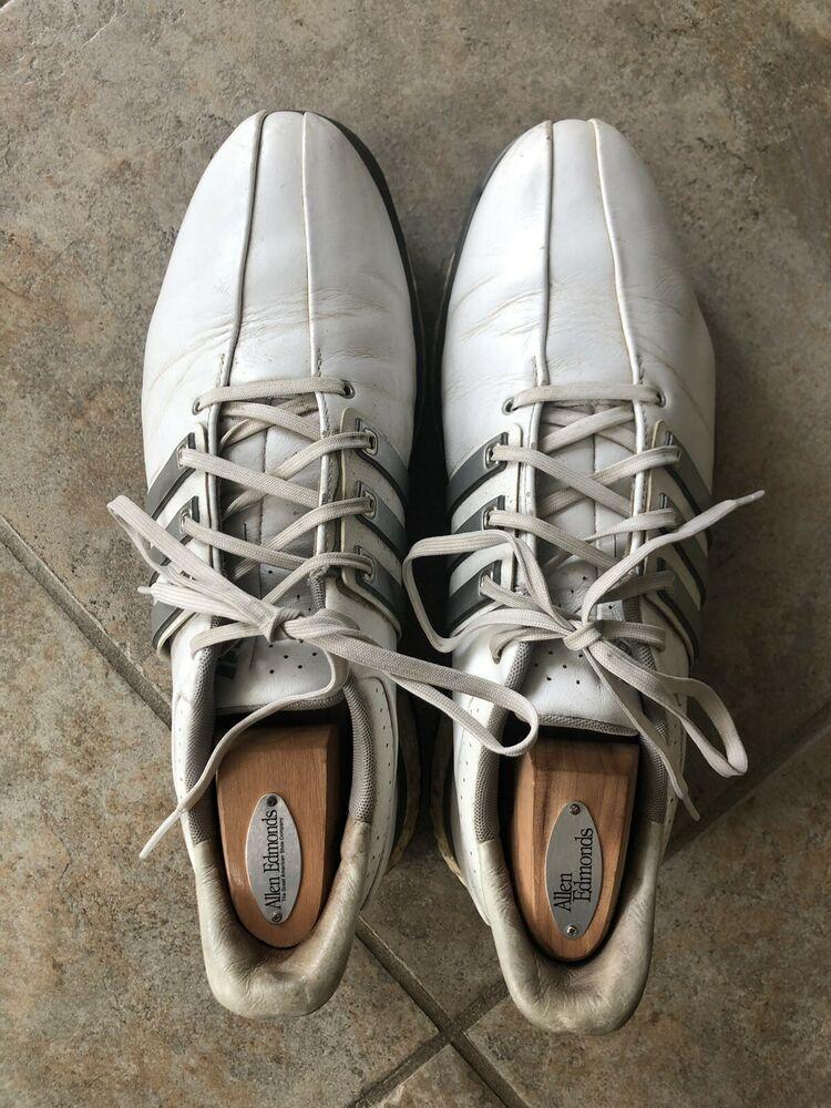Ad Ebay Adidas Tour 360 Boost 2 0 Men S Golf Shoes Us 10 Medium Onix White Black Golf Shoes Mens Adidas Tour 360 Womens Golf Shoes