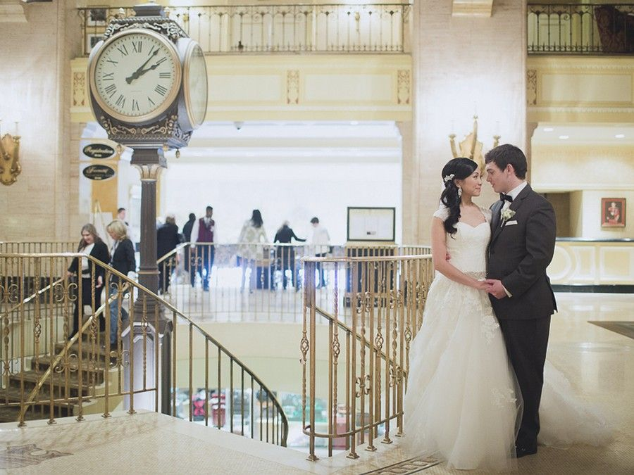 Beautiful Park Hyatt Hotel Wedding In Toronto
