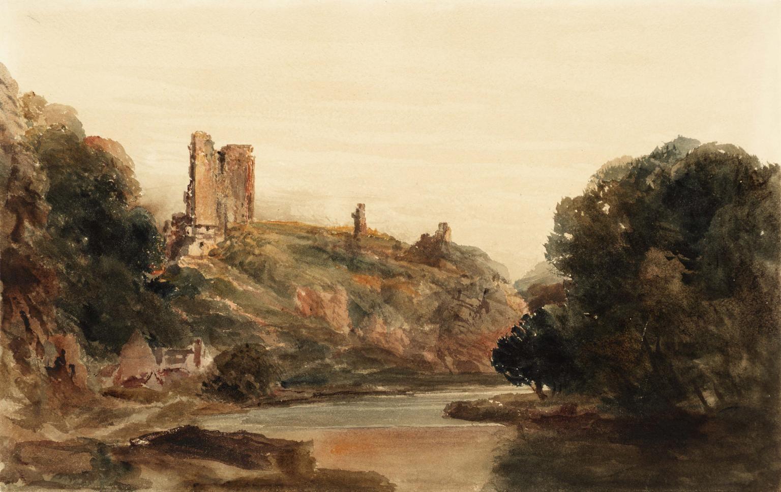Knaresborough Castle Peter De Wint Knaresborough Castle