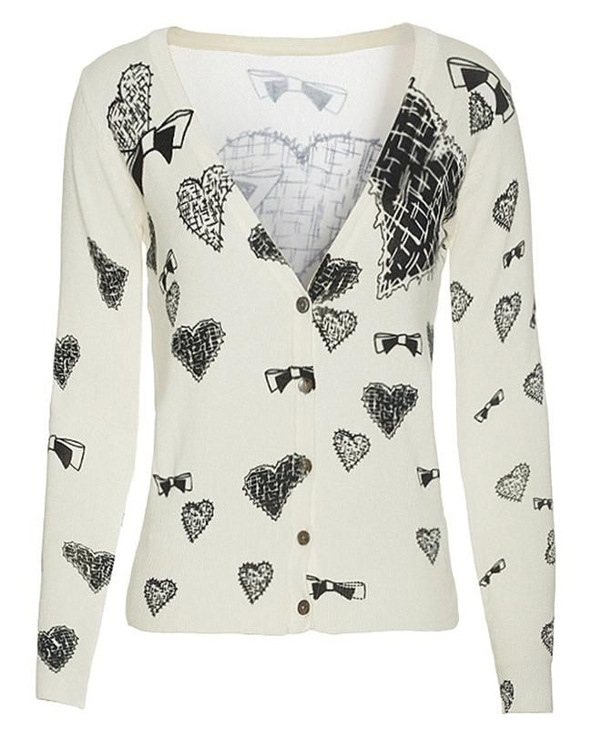 innoguroshop | Rakuten Global Market: KDINSI ladies Cardigan knit tops v neck Western style fashion sweater long sleeve winter slender warm / cold K5413