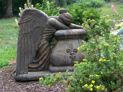 Weeping Angel Garden Statue