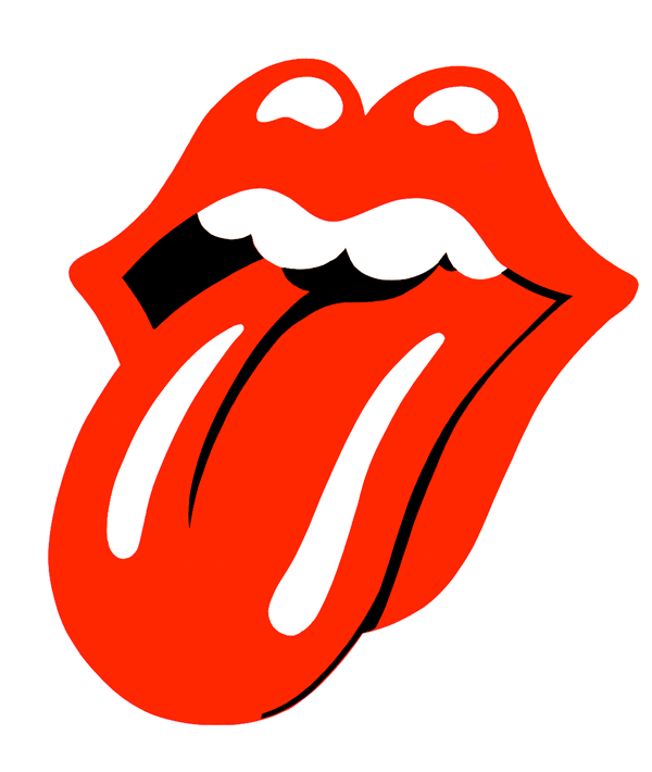 Rolling Stones iconic logo designed by John Pasche.