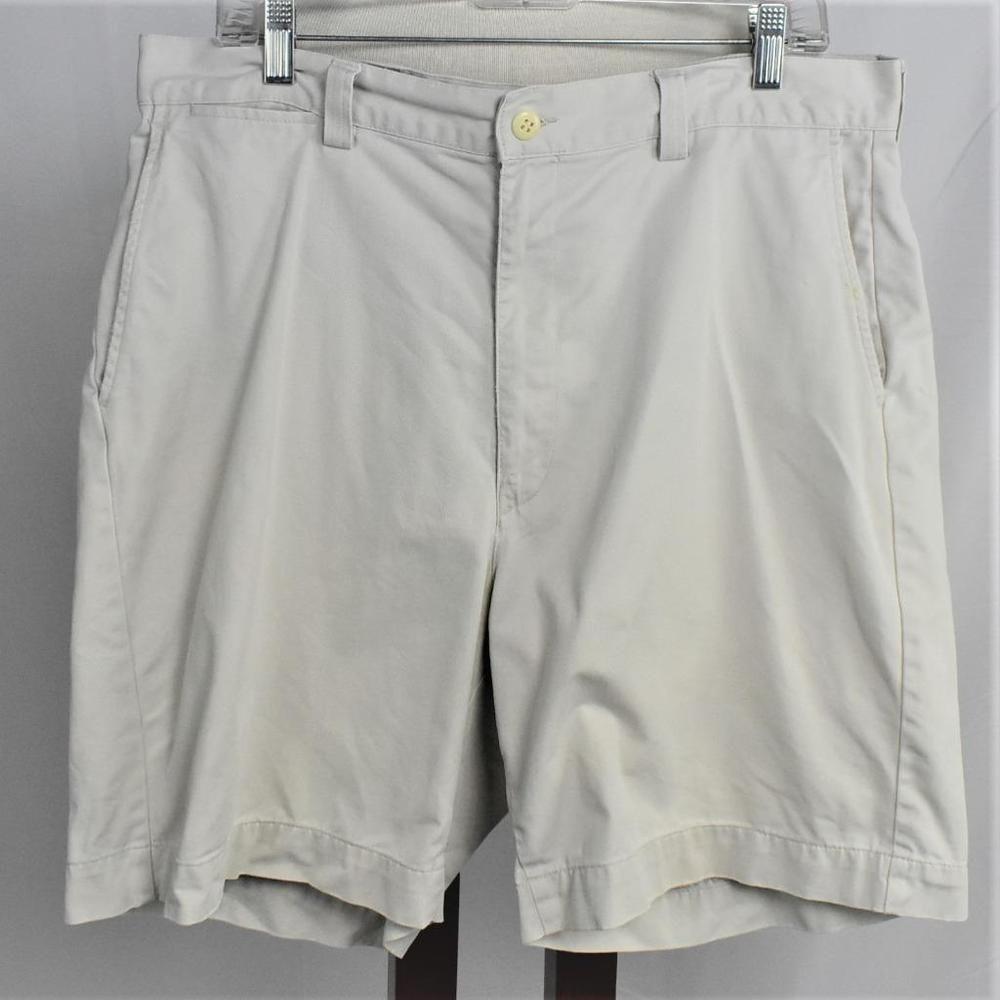 9907f1b09 Polo Ralph Lauren Mens 36 Shorts Prospect Fit Cotton Chino Zip Fly Pockets  Khaki  PoloRalphLauren  FlatFront