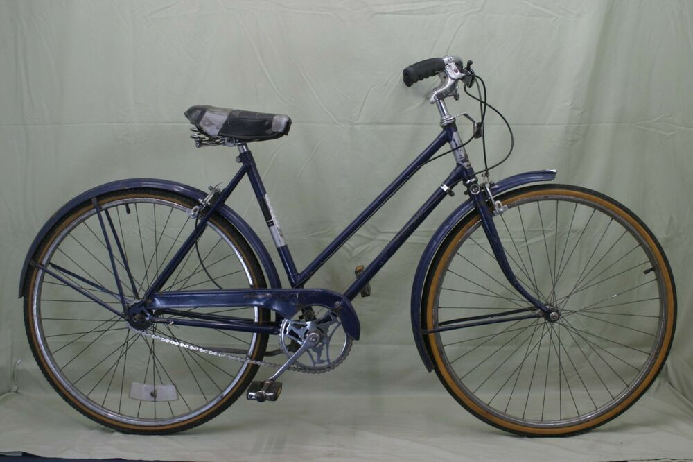 Raleigh Sports Vintage Cruiser Bike Womens S 52cm Sturmey