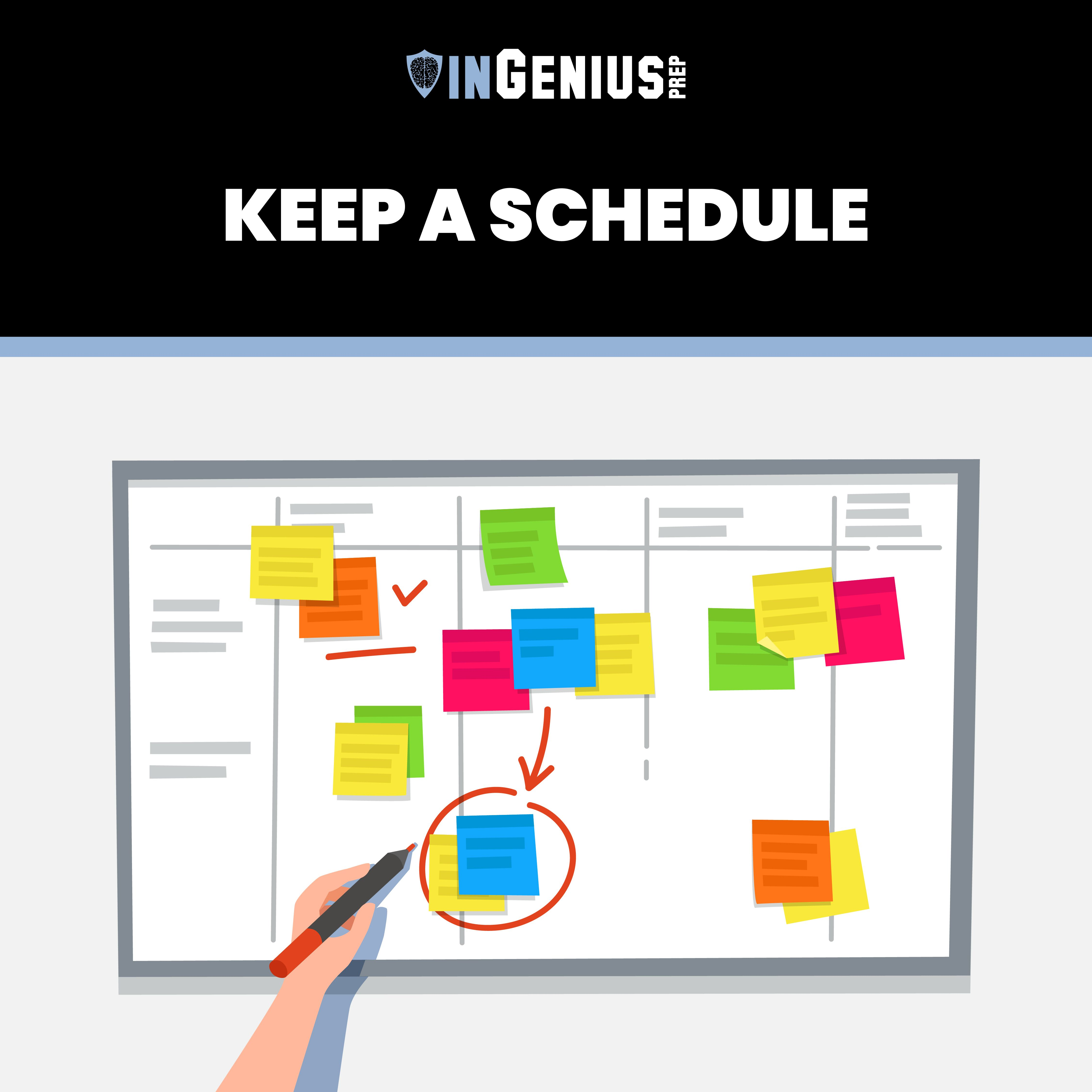 WFH Tips Keep a Schedule in 2020 Education, Bar chart