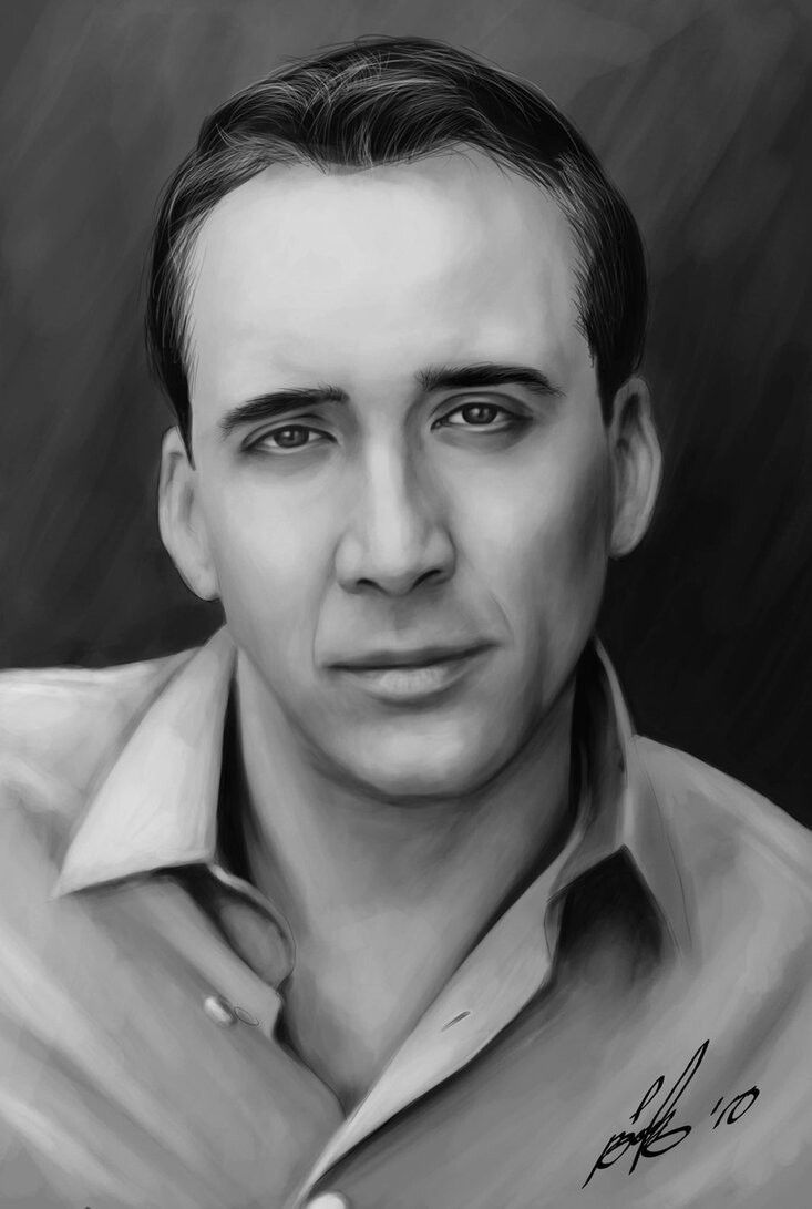 Does this look like Sir Nicolas Cage? Sincerely, The face