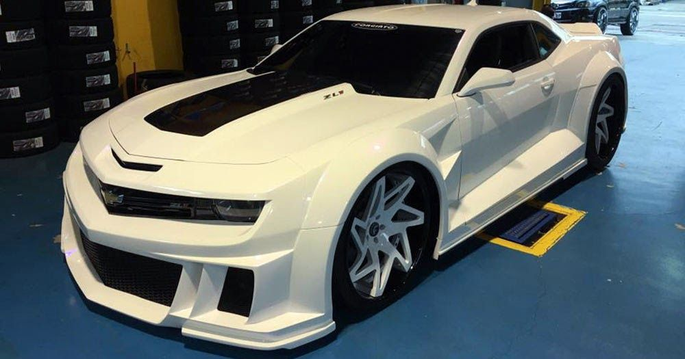 If Stormtroopers Used Cars This Camaro Zl1 Would Be Their Ride