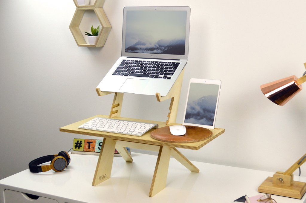 By Not Taking Up Your Entire Desk The Alto Stand Can Be Used