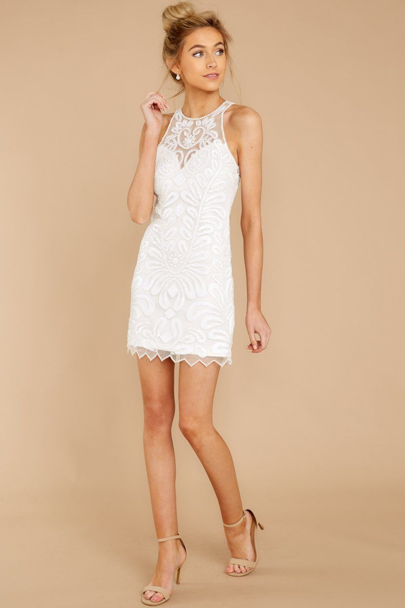 Fun White Beaded Sequin Dress Sparkly Sleeveless Dress Dress 54 Red Dress Boutique White Lace Dress Short Beaded Dress Short White Sequin Dress [ 1200 x 800 Pixel ]