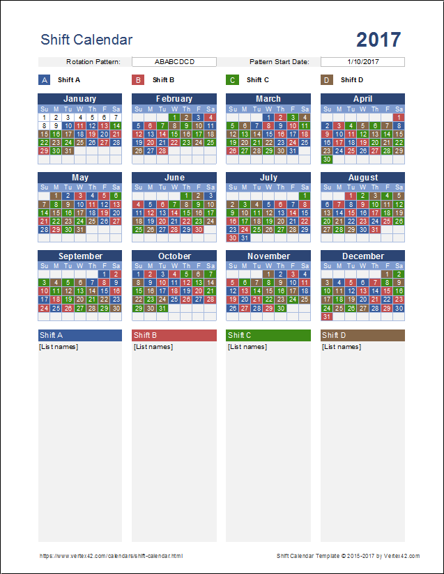 24 Hour Shift Schedule Generator | Scheduling Template | Schedule ...