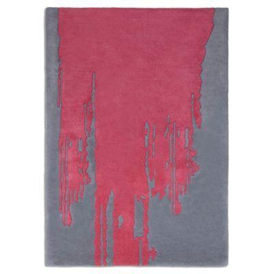 Debenhams Pink wool \'Punk\' rug- at Debenhams.com   Open plan living ...