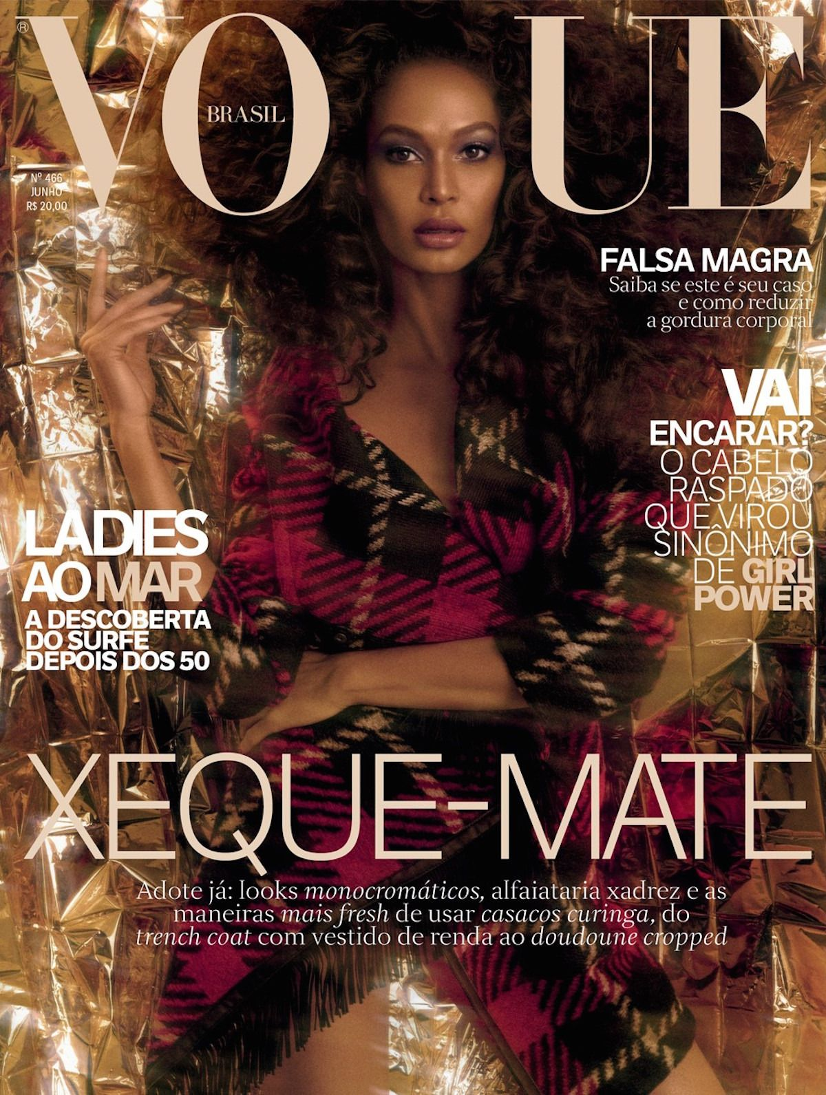 71c1176e24b5e Joan Smalls by Zee Nunes Vogue Brasil June 2017