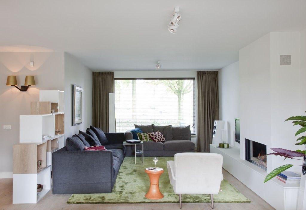 Woonkamer - Interieur design woonhuis Nuenen - Hal-2 ...