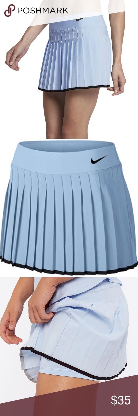 Nike Court Victory Tennis Skort Nwt 65 Xs Nwt With Images Tennis Skort Pleated Tennis Skirt Tennis Skirt