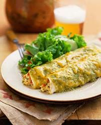 Chicken Enchiladas with Heavy Cream and Green Chiles   Tasty Kitchen: A Happy Recipe Community!