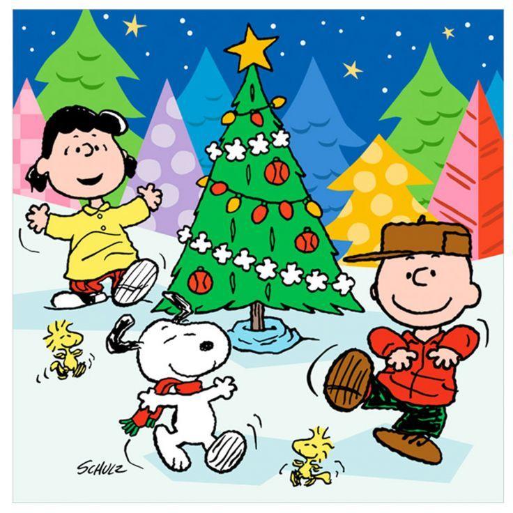 Christmas Celebration Cartoon Images.Free Peanuts Christmas Celebration Computer Desktop Hd