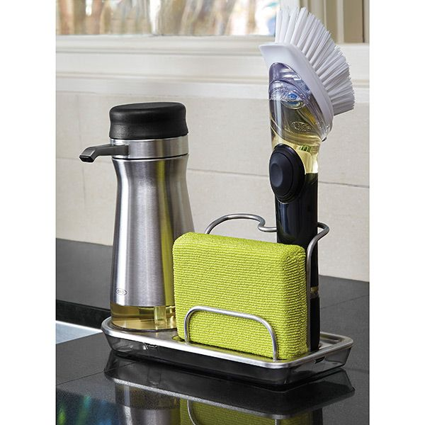 charming Kitchen Sink Organizers Accessories #5: Stainless Steel Sink Organizer by OXO® | $14.99