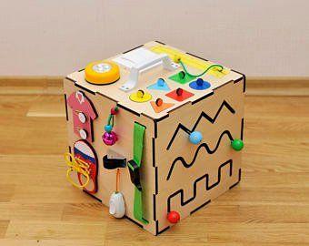 Gran libro tranquilo y ocupado fieltro páginas establecidas 24 piezas, Juguete de bebé Montessori, caja tranquila (conjunto de tabletas tranquilas) para 1 año de edad y por Minimom's