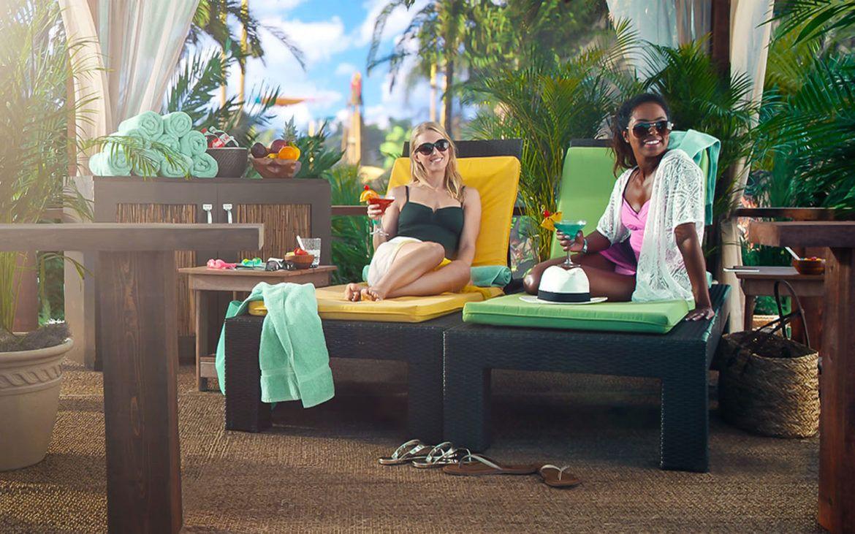 Volcano Bay Universal Orlando Resort private cabana