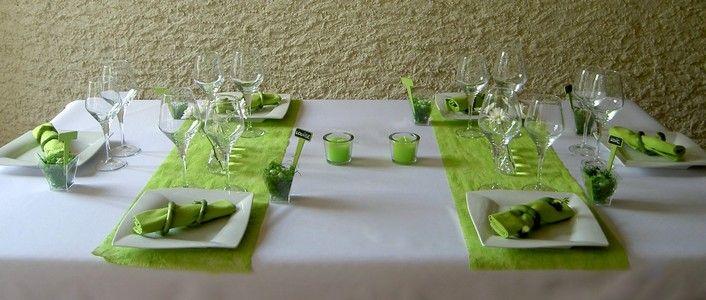 Idée décoration de table thème nature