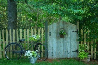 adorable garden gate