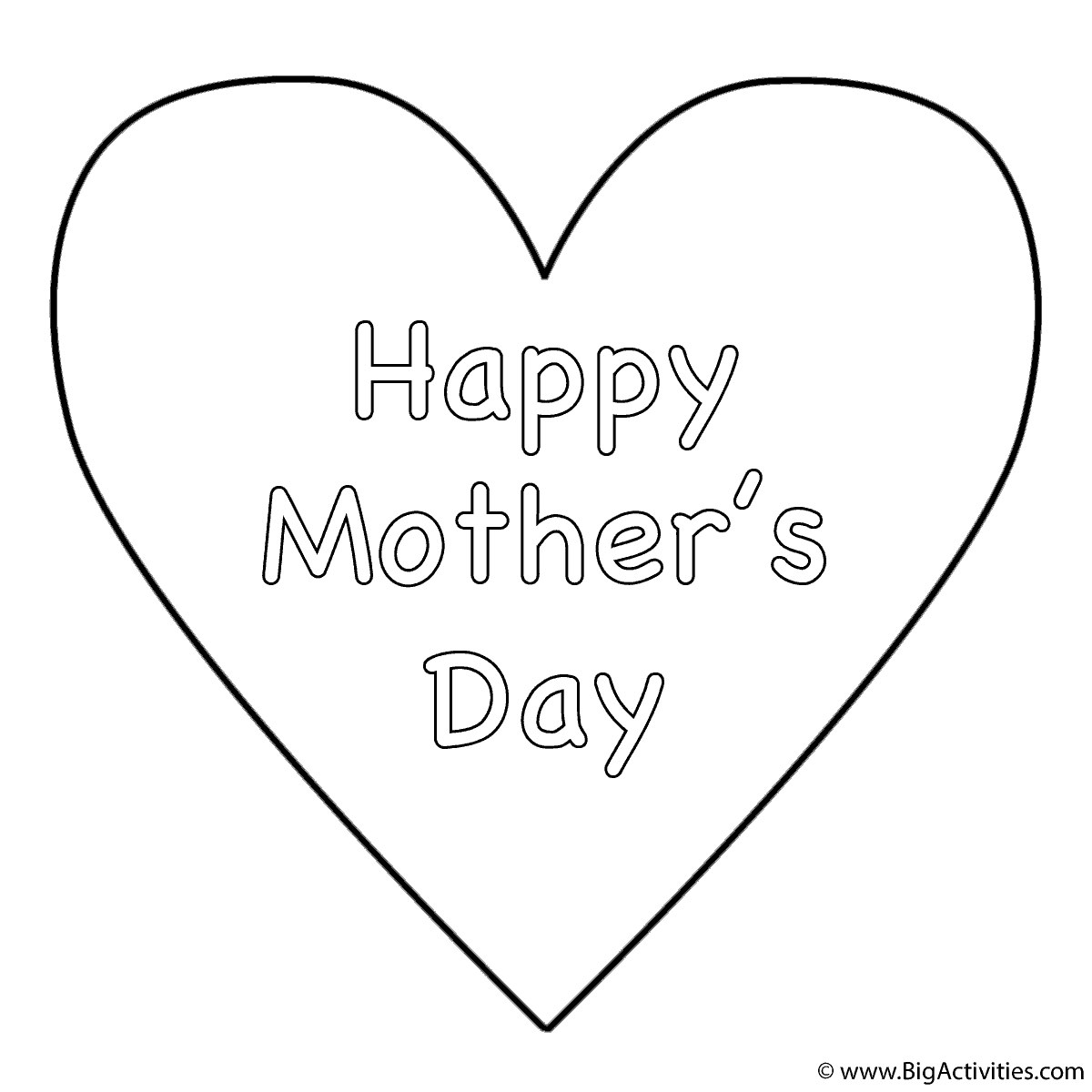 Happy Mother S Day Zentangle Coloring Page Mothers Day Coloring Pages Mother S Day Colors Mothers Day Coloring Sheets