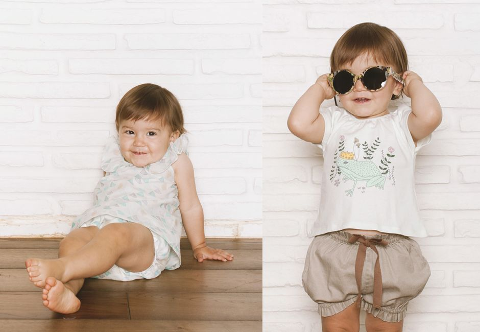 baby SS15 lookbook Lace & Ribbons #bonnetapompon