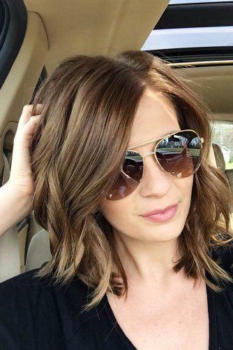15 Trendy Hairstyles For Long Faces Medium Length Hair Hair