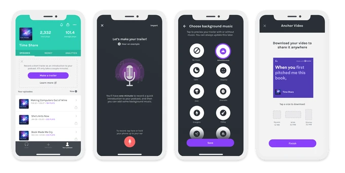 Spotify's podcasting app Anchor now helps you make