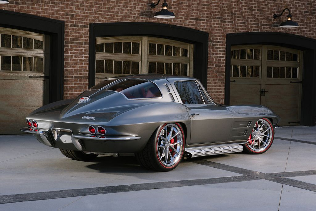1963 Chevy Corvette Coupe Custom Corvette Cars And Muscles