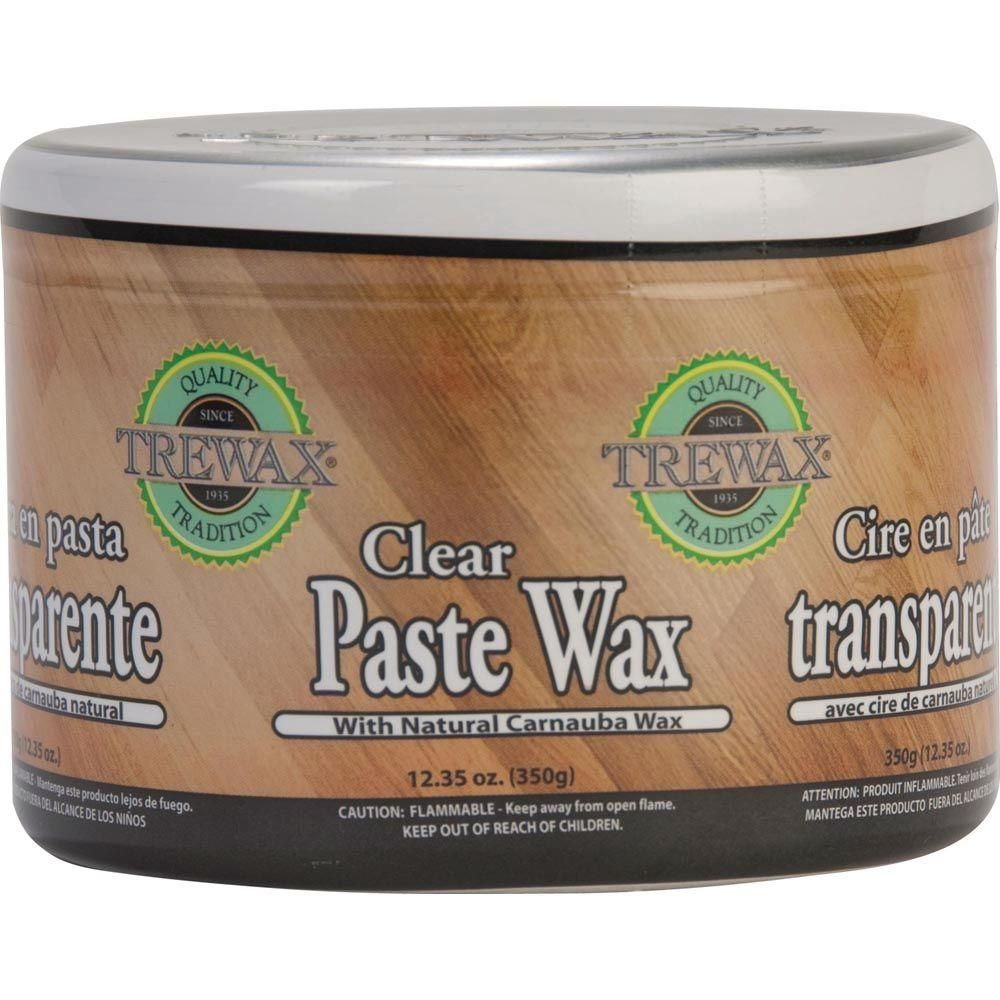 Trewax 12 35 Oz Paste Wax Clear Can 2 Pack 887172176