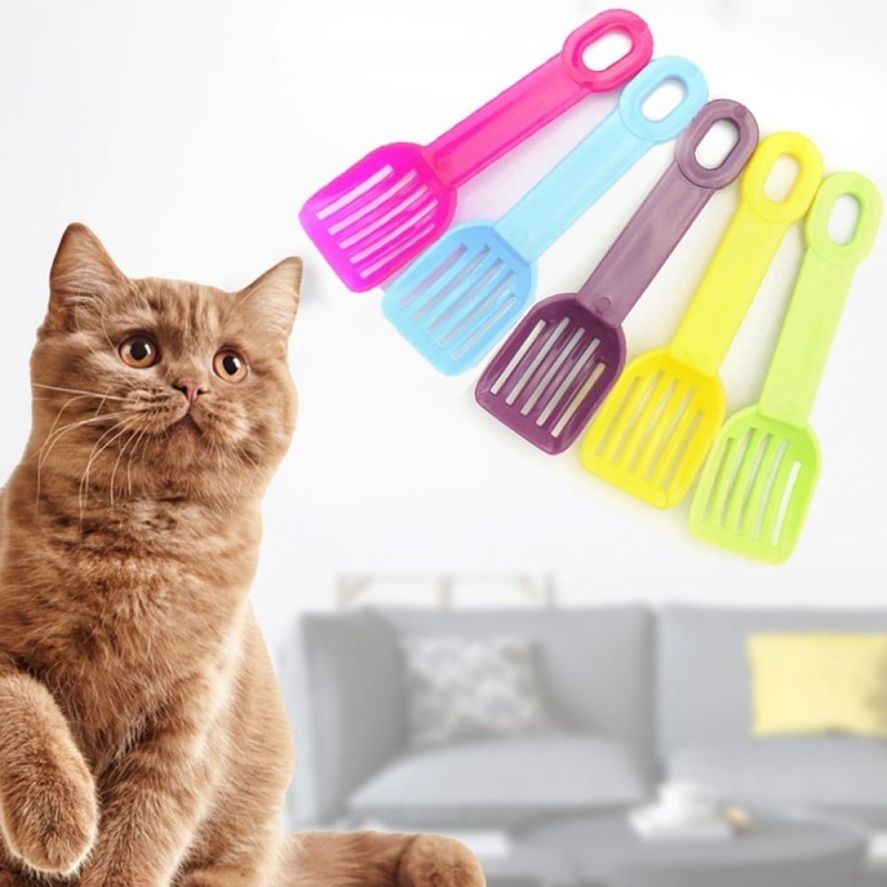 Pet Cleaning Tool Sand Cleaning Products Useful Cat Litter Shovel Toilet For Food Spoons Pet Cleaning Spades Plastic Scoop Pr Pet Cleaning Cat Litter
