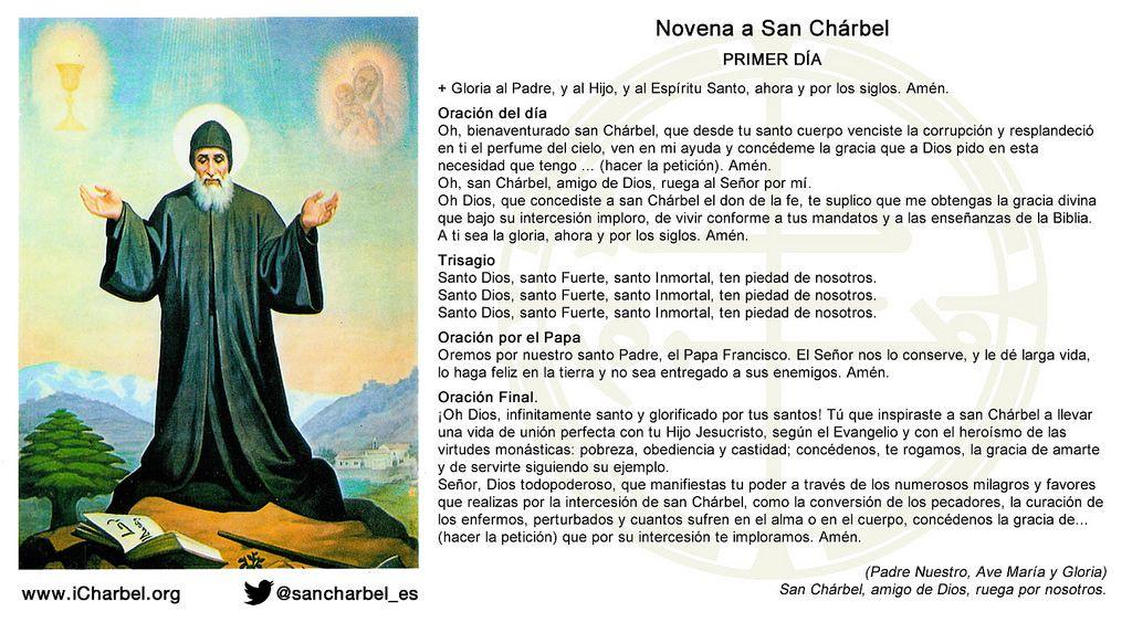 https://flic.kr/s/aHskctigUP | Novena a San Chárbel