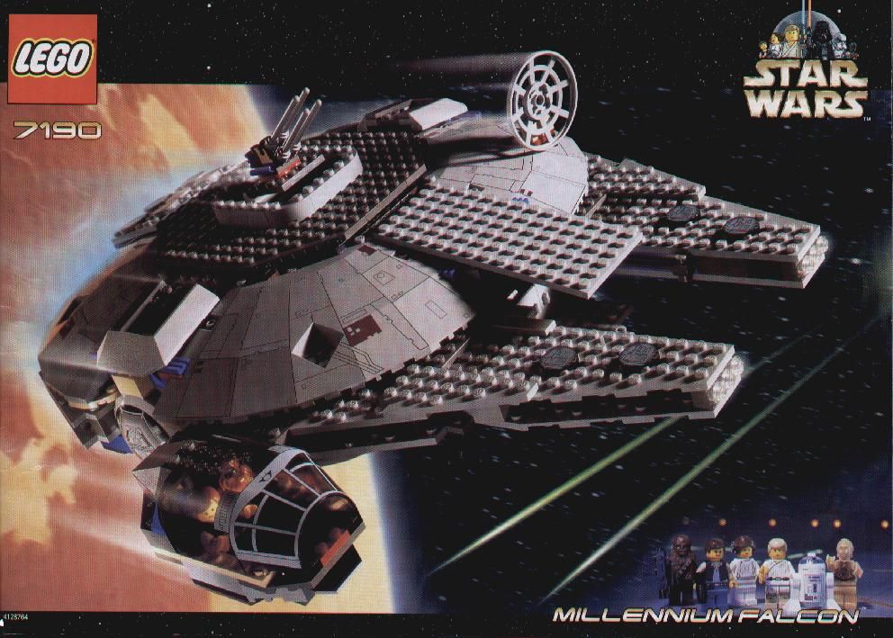 Millenium Falcon Lego Pinterest Lego Instructions Falcons And