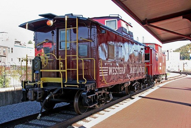 Western Maryland Railroad Santa Express and other santa train rides in the DC area