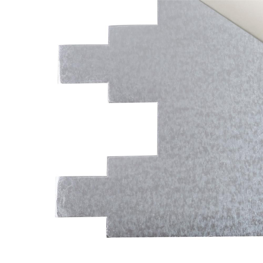 Smart tiles infinity blanco 1051 in x 971 in mosaic adhesive smart tiles infinity blanco 1051 in x 971 in mosaic adhesive wall tile backsplash dailygadgetfo Image collections