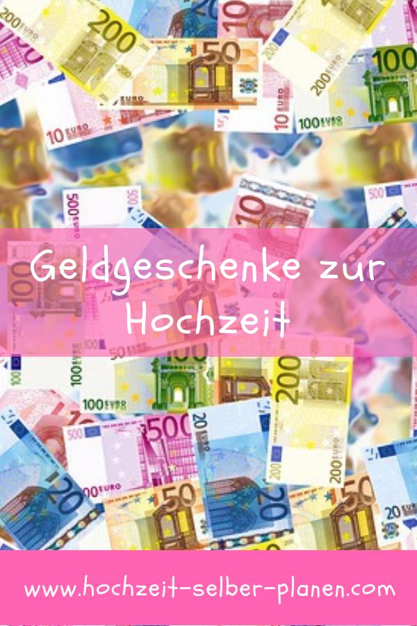 Geldgeschenke zur Hochzeit - Welcher Geldbetrag ist