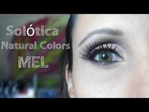 Assista esta dica sobre Solótica Natural Colors Mel. e muitas outras dicas de maquiagem no nosso vlog Dicas de Maquiagem.