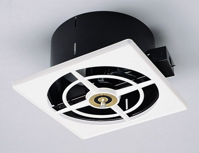 50s style NuTone Ceiling Wall Fan solves your exhaust