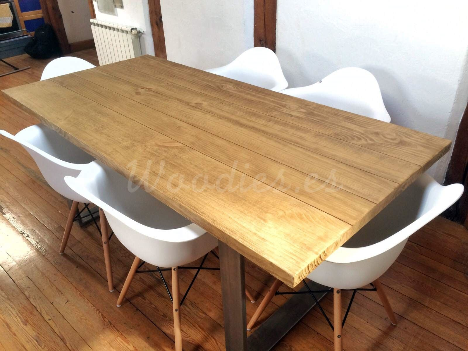 Muebles Woodies - Mesa Comedor Industrial Mesas Woodies Deco Salon Pinterest [mjhdah]https://i.pinimg.com/originals/e0/6c/7b/e06c7b5d6f45a91a738c21603185a91d.jpg