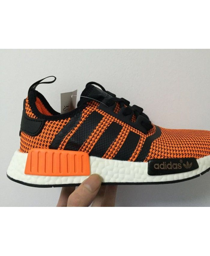 newest 4237b e1870 Durable Shoe Adidas NMD PK Runner men Orange black on Sale