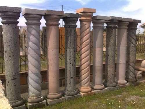 Columnas De Cantera Todos Colores Envios A Toda La Republic 1 480 00 Columnas Romanas Columnas Cantera Rosa