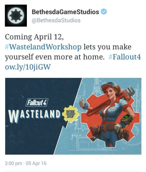 Coming out next week fallout 4 wasteland workshop addicted to coming out next week fallout 4 wasteland workshop solutioingenieria Image collections