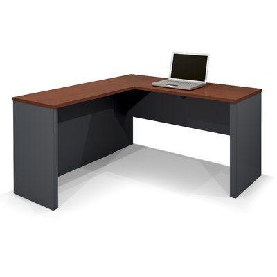 Ebern Designs Kenworthy Reversible L Shape Computer Desk Wayfair In 2020 Modern Corner Desk L Shaped Corner Desk Corner Desk