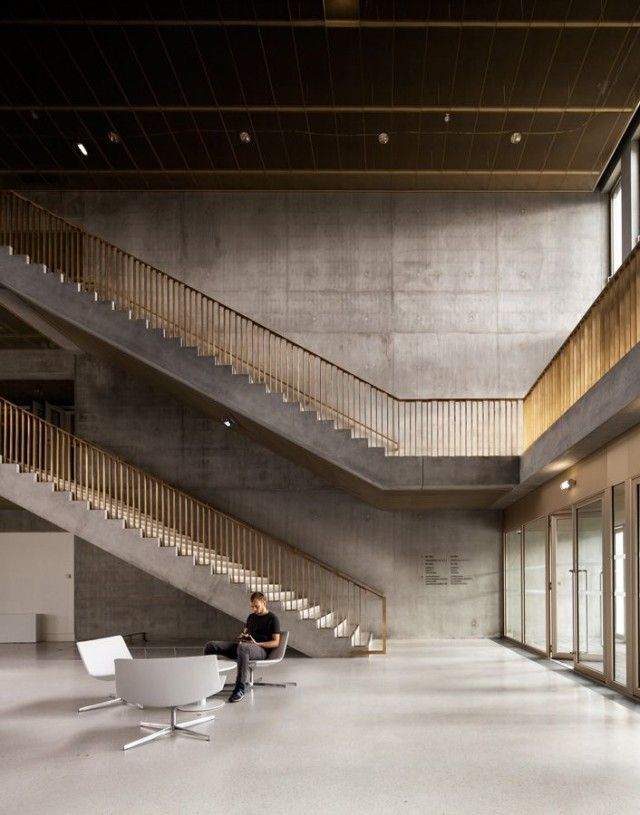 Best Pin By Gaa Architecture On Walls Contemporary Stairs 400 x 300