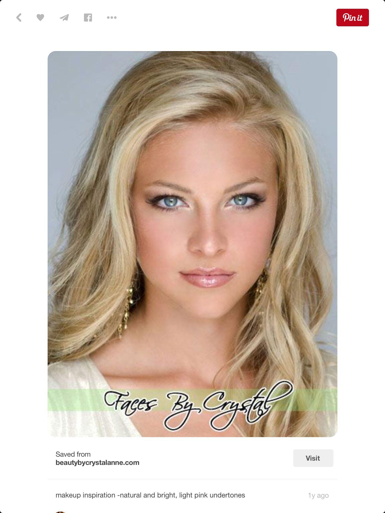 Makeup Makeup for blondes, Blonde hair blue eyes