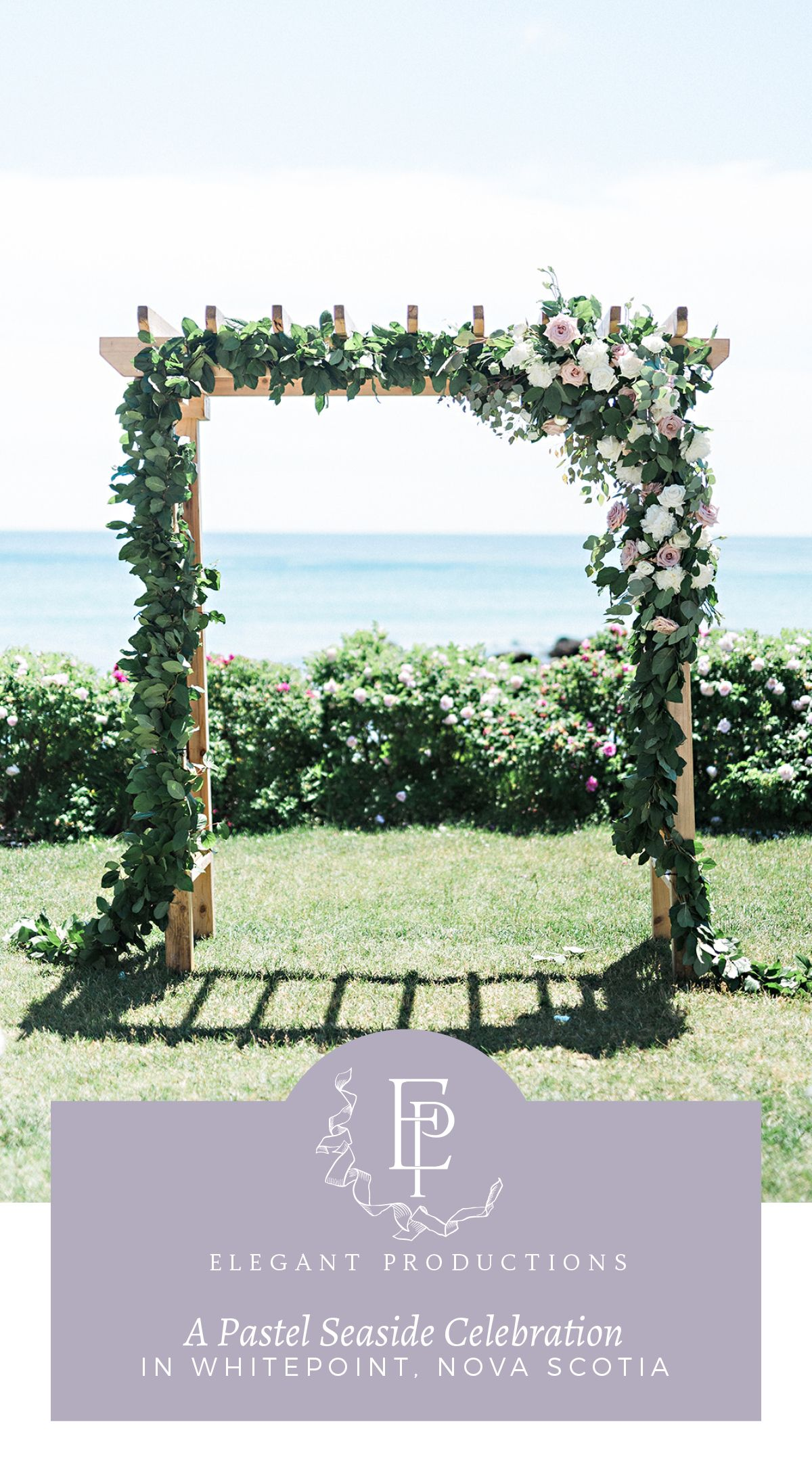 A Pastel Seaside Wedding Celebration Click through to see a gorgeous seaside resort wedding celebration filled with pastel hues blue bridesmaids and gorgeous flowers