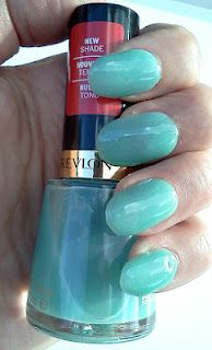 Revlon Sheer Seafoam from their limited edition Escapism collection