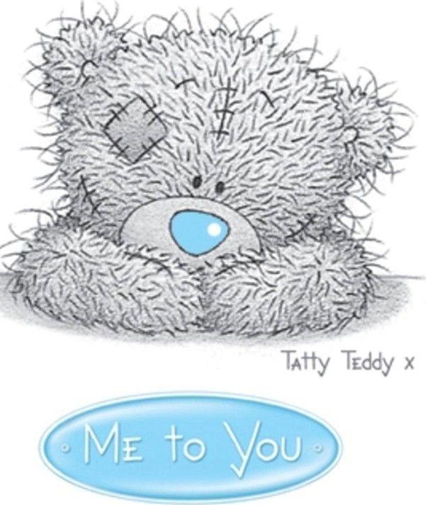 Just thinking of you me to you bear card carte blanche greetings ltd m4hsunfo