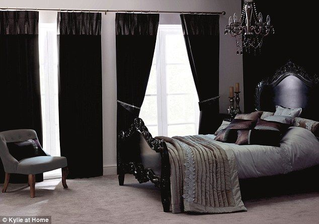 Bedroom Curtains black bedroom curtains : 1000+ images about Curtains on Pinterest | Grey blackout curtains ...